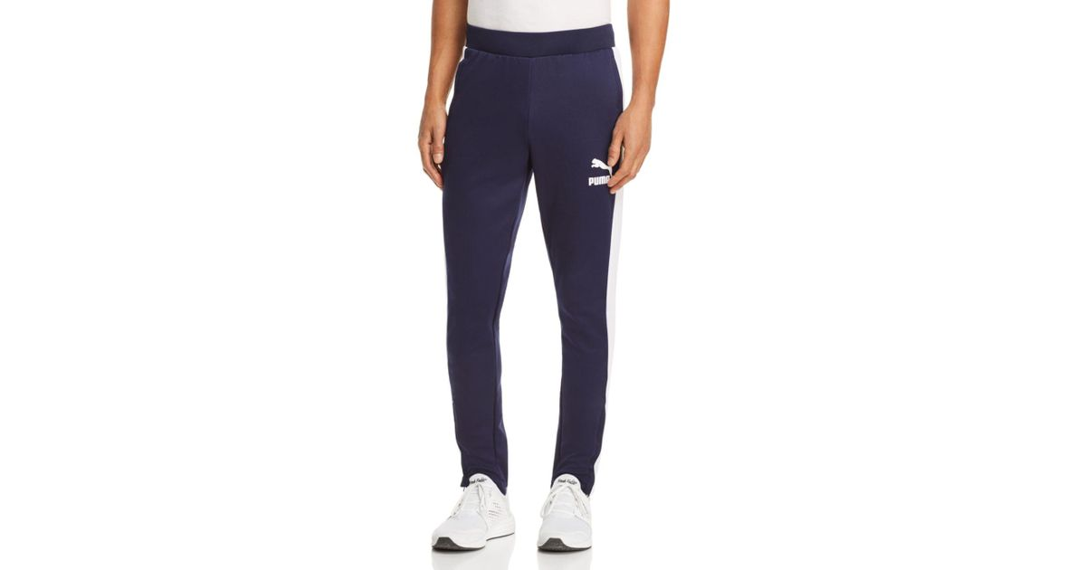 76481e12309a Lyst - PUMA T7 Vintage Track Pants in Blue for Men