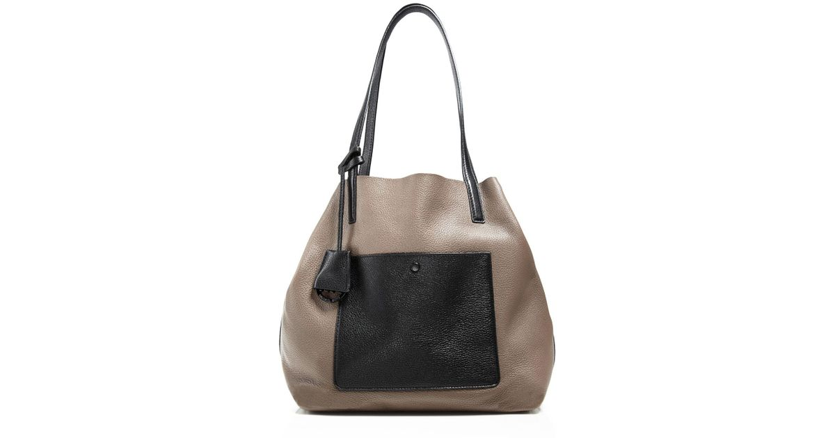 570f855ea8ce ... spain michael michael kors extra large colgate grab bag tote in gray  lyst 6aa56 4d9bb