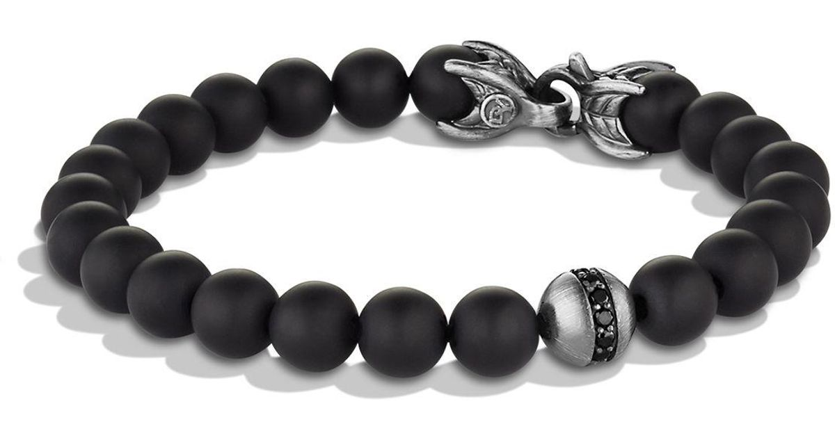 the bracelets matte new of bu black patent product brass home unity bracelet onyx look