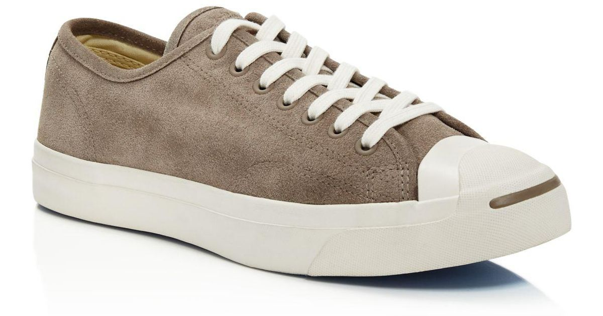 9d8c24536e5 Lyst - Converse Men s Jack Purcell Ltt Suede Lace Up Sneakers for Men