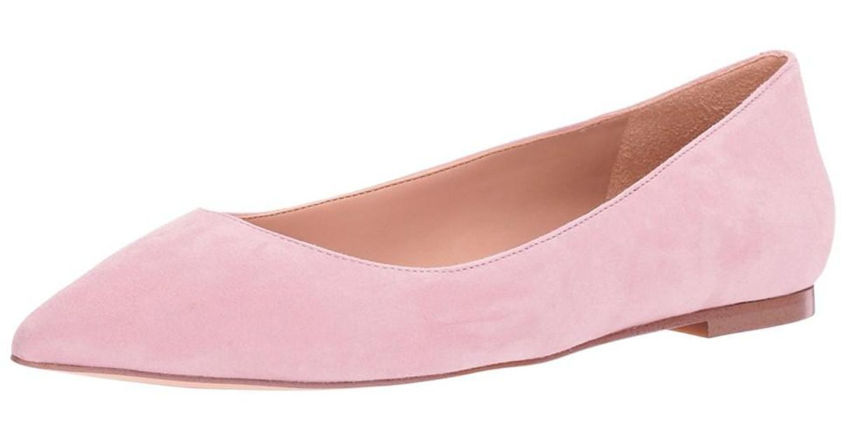61014cc0fa8df Lyst - Sam Edelman Women s Rae Pointed Toe Flat in Pink
