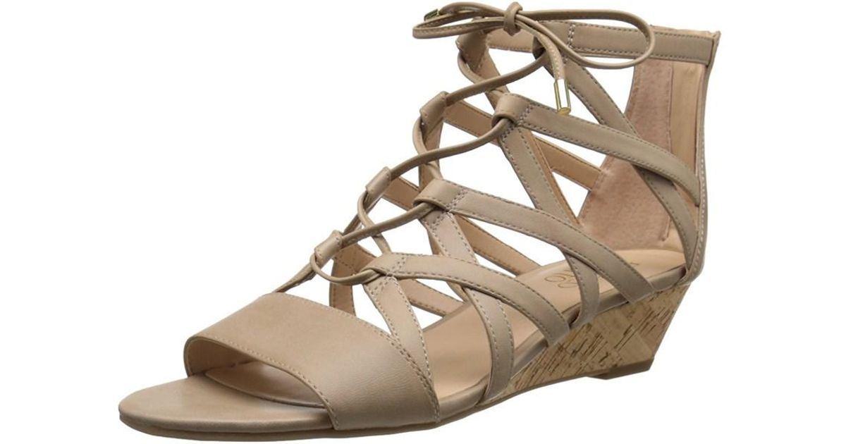 dff911481f93 Lyst - Franco Sarto Womens L-brixie Open Toe Casual Platform Sandals in  Brown