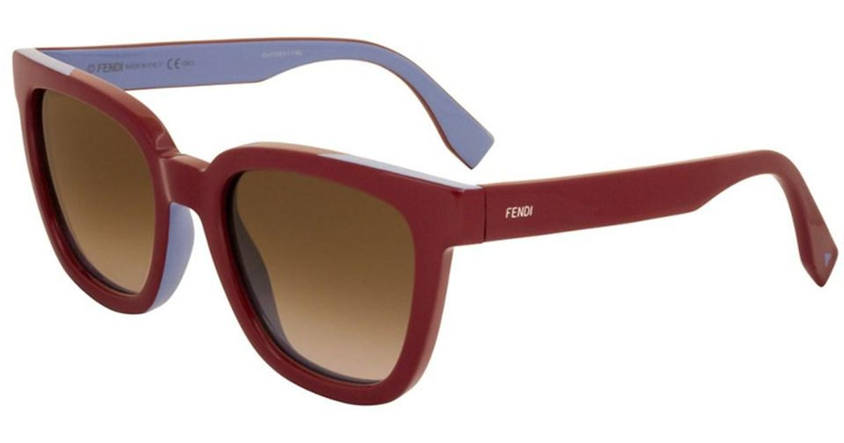 69d205640be85 Lyst - Fendi Women s 0121 s 51mm Sunglasses in Brown