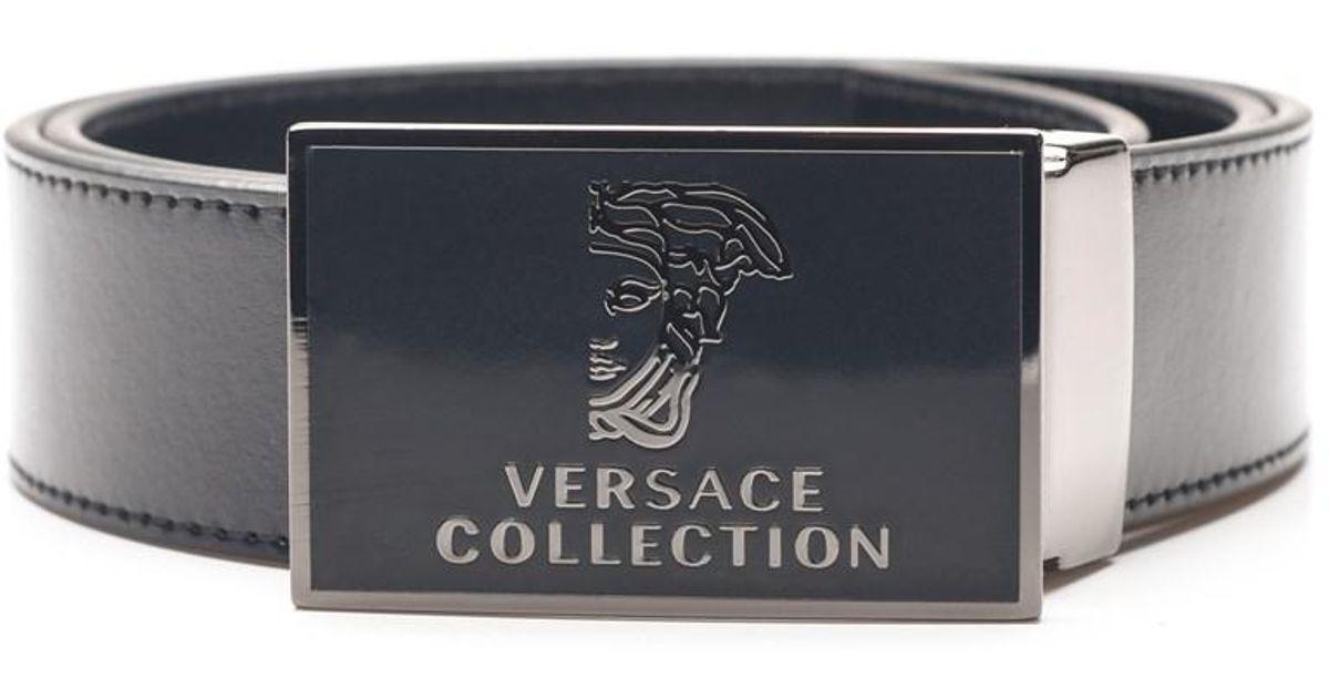 c19862e5 australia versace collection leather belt bd495 ecb03