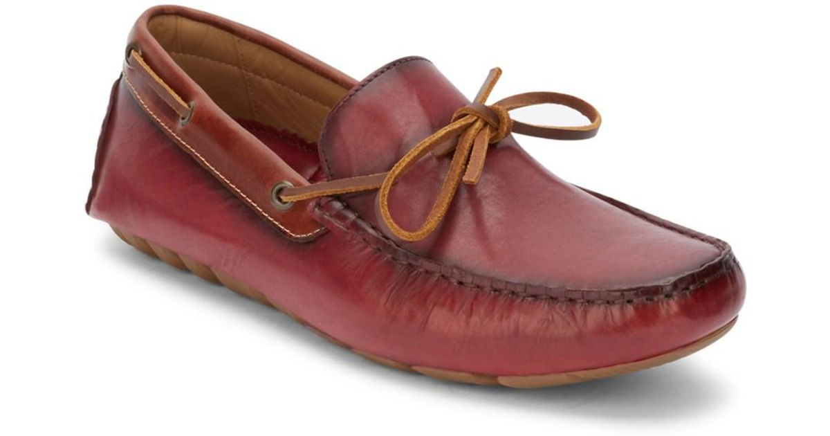 f4ffa60a242c Lyst - G.H.Bass . Mens Wyatt Casual Driver Loafer Shoe in Red for Men