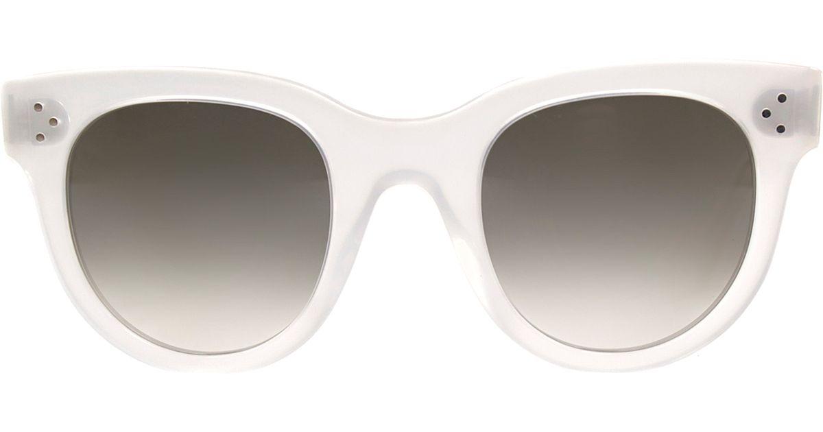 e49e1f11584 Céline Eyewear Edge Cat-eye Sunglasses