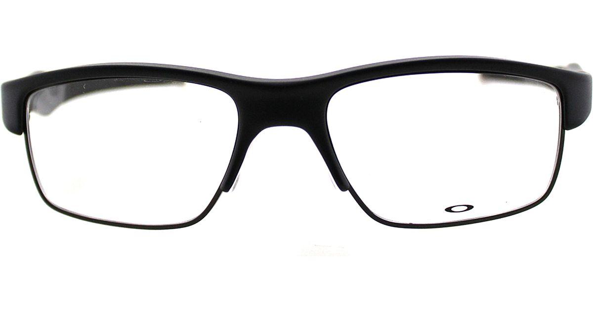 1a9e1f1d1d Lyst - Oakley Crosslink Sport Metal Eyeglasses in Black for Men