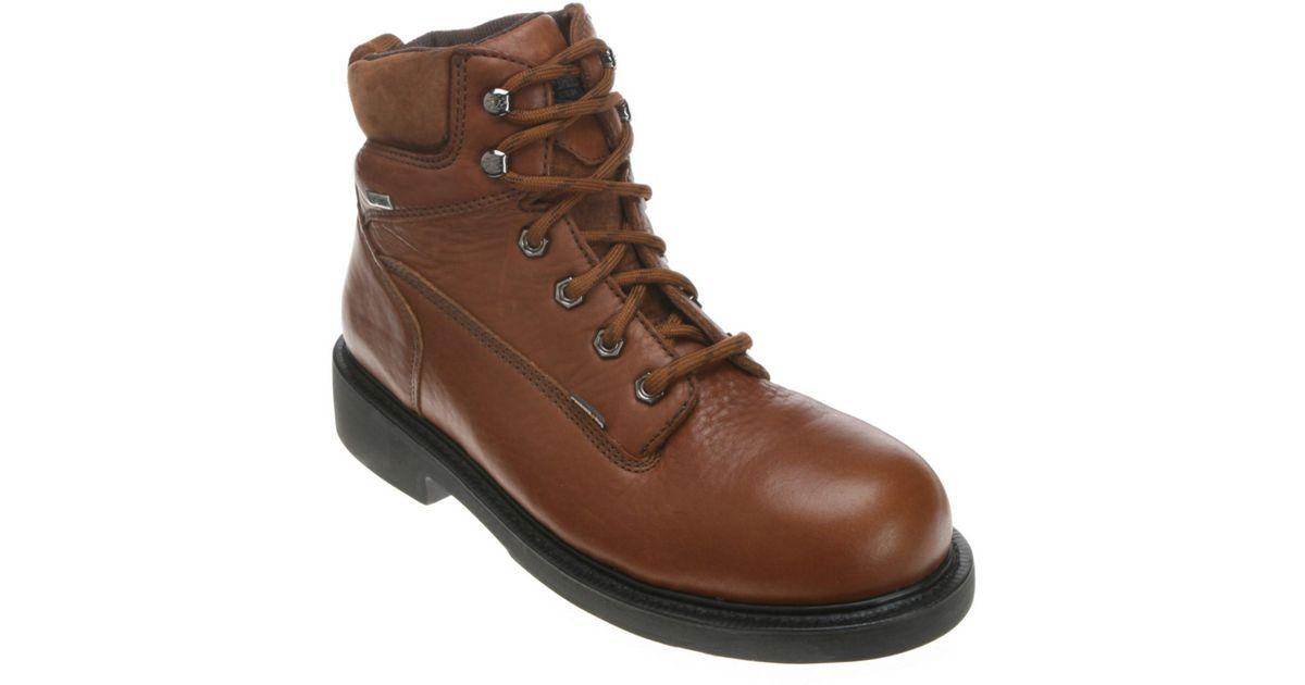37d6f8c0080 Wolverine - Brown Men's Durashocksâ® 6 Inch Boot Gtxâ® Sr Work Boots for  Men - Lyst