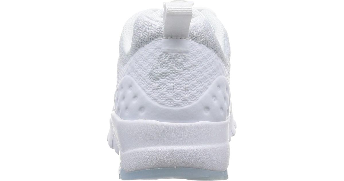 buy popular 8eb7c b3b92 Lyst - Nike Womens Air Max Motion Lw Fabric Low Top Lace Up Running Sneaker  in White