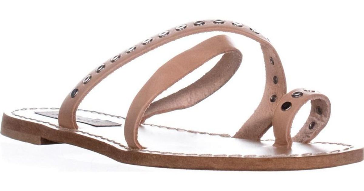 5df91f9b7a3fcc Lyst - Steve Madden Becky Flat Toe Ring Sandals