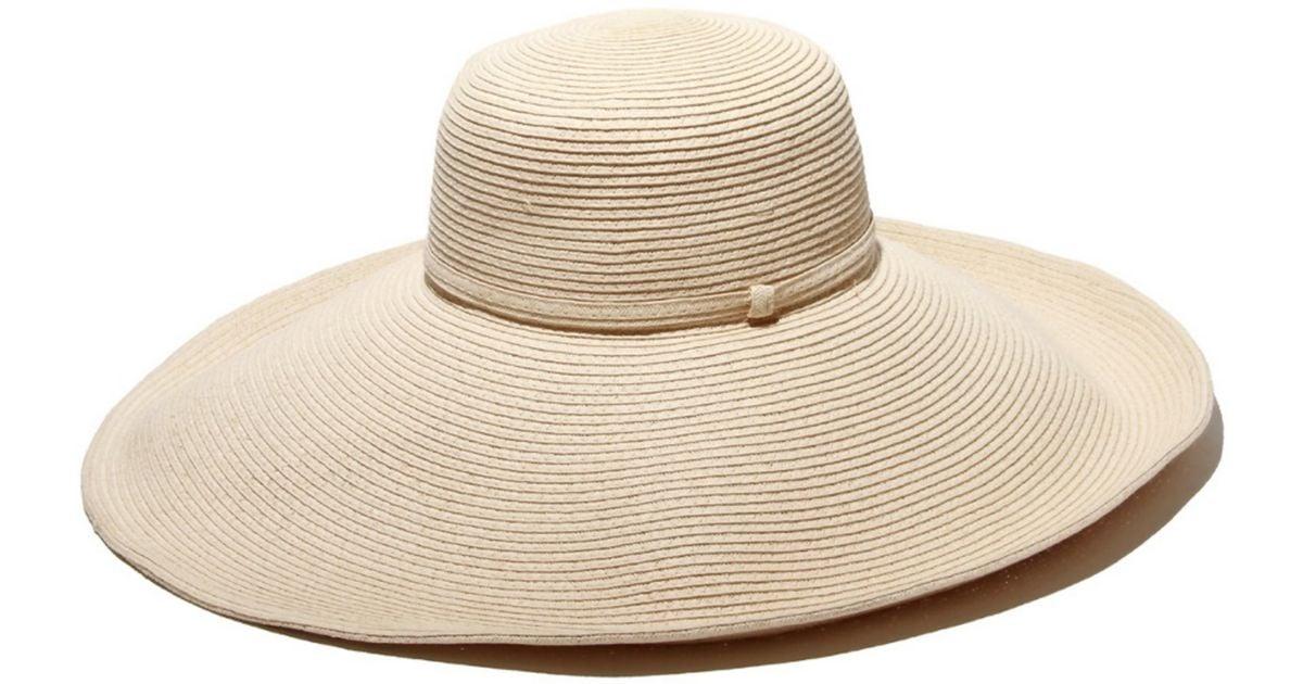 632b0e5de5a Lyst - Gottex Belladonna Ivory Straw Hat