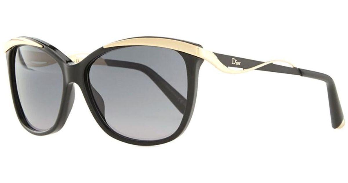 a98a831748be Lyst - Dior Metaleyes 2 Cat-eye Plastic Sunglasses in Black