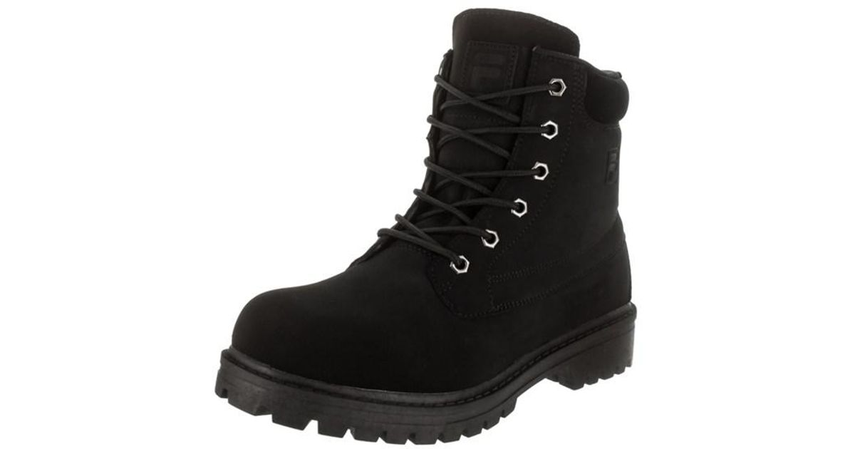 6617d4f98f0 Lyst - Fila Men s Edgewater 12 Boot in Black for Men