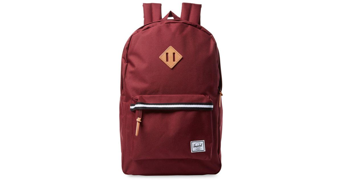 5b74970697d Lyst - Herschel Supply Co. Supply Heritage Backpack in Red