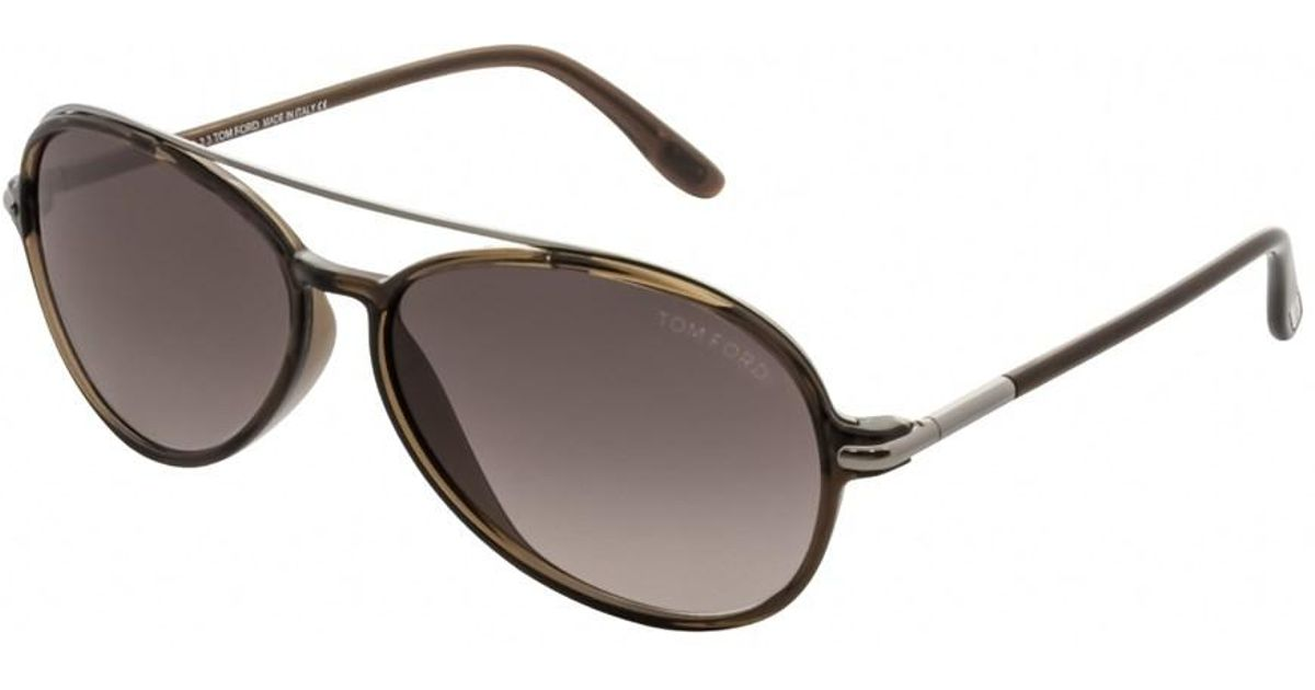 7205a9c65d5 Lyst - Tom Ford Ft0149 Ramone 48f in Brown