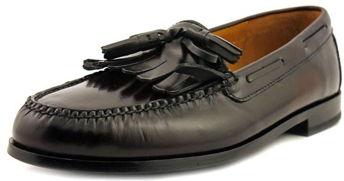 Lyst - Cole Haan Pinch Shawl Bow Ii 3e Round Toe Leather Loafer in Brown  for Men