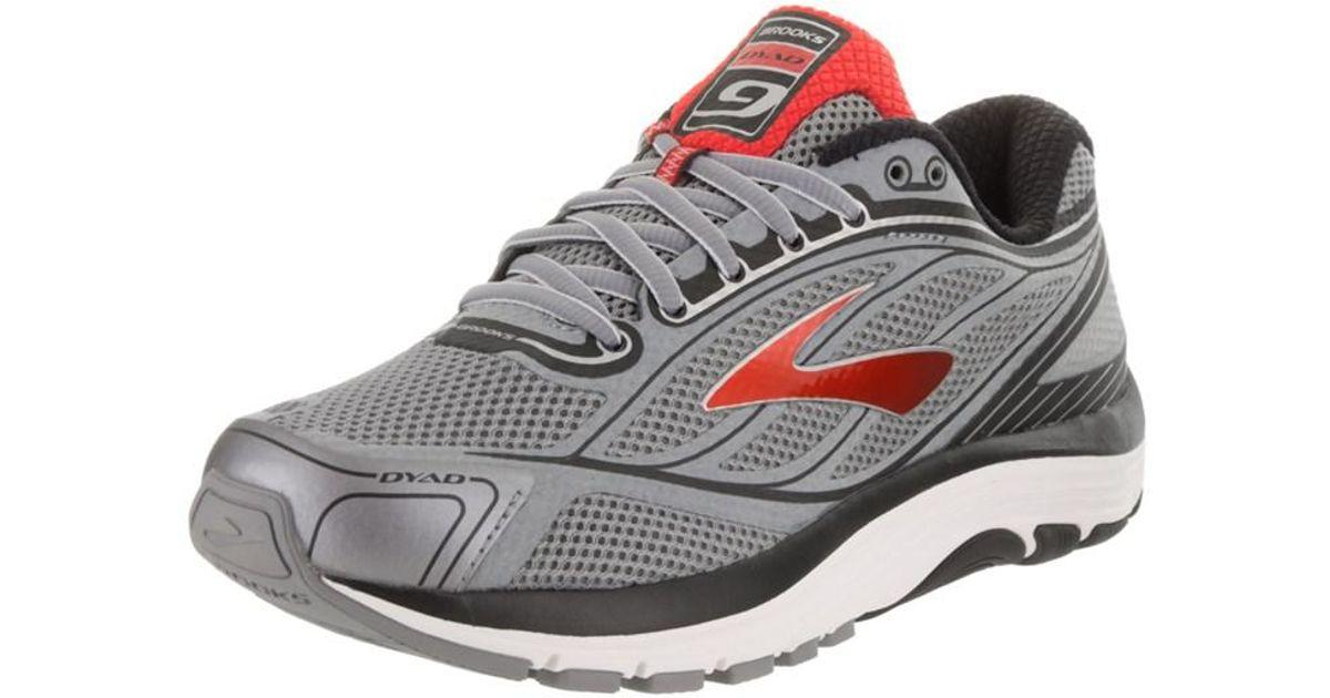 414e2e5cfa7 Lyst - Brooks Men s Dyad 9 Running Shoe in Gray for Men