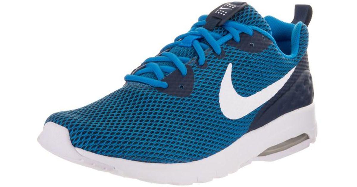c5b217062b89 Lyst - Nike Men s Air Max Motion Lw Se Running Shoe in Blue for Men