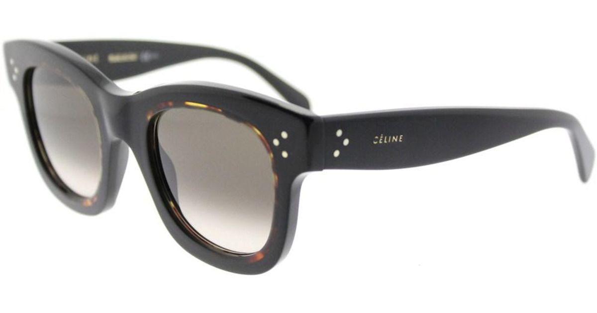 5a96e26093 Celine Aviator CL 41392 J5G W2 Womens Gold Frame Dark Grey Degrade Lens  Sunglasses