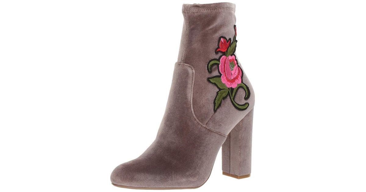 a0f3e6eae03 Lyst - Steve Madden Women s Edition Ankle Bootie in Brown