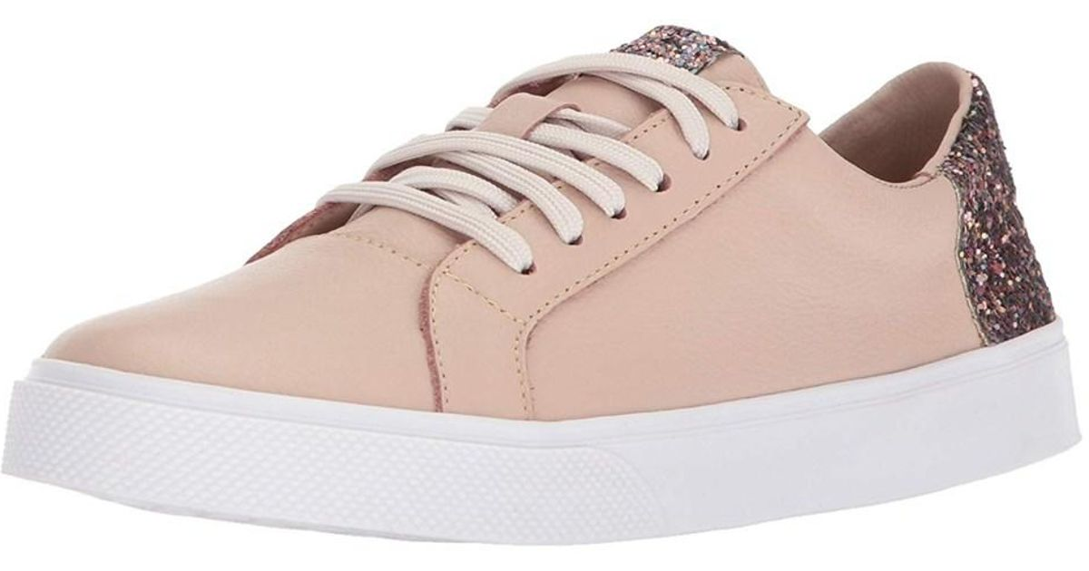 a0e5cf5a05e3 Lyst - Kaanas Women s San Rafael Contrast Heel Lace-up Leather Casual  Fashion Sneaker in Pink