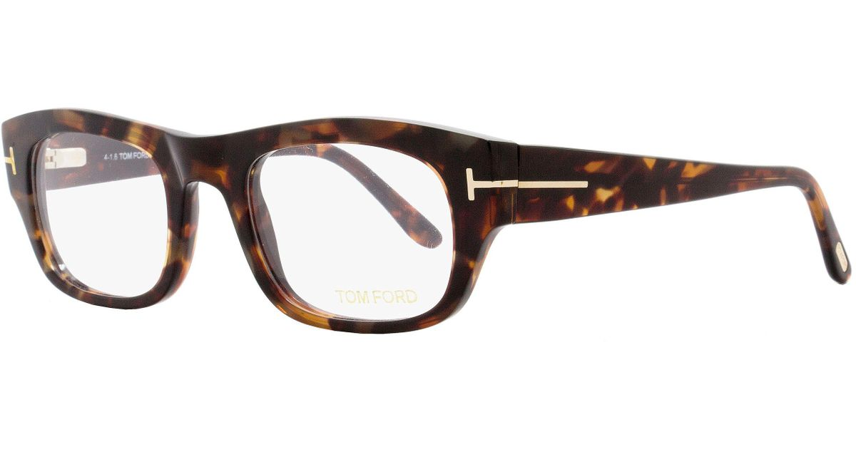 fdfe4fe4489 Lyst - Tom Ford Rectangular Eyeglasses Tf5415 054 Size  50mm Red Havana gold  Ft5415 for Men
