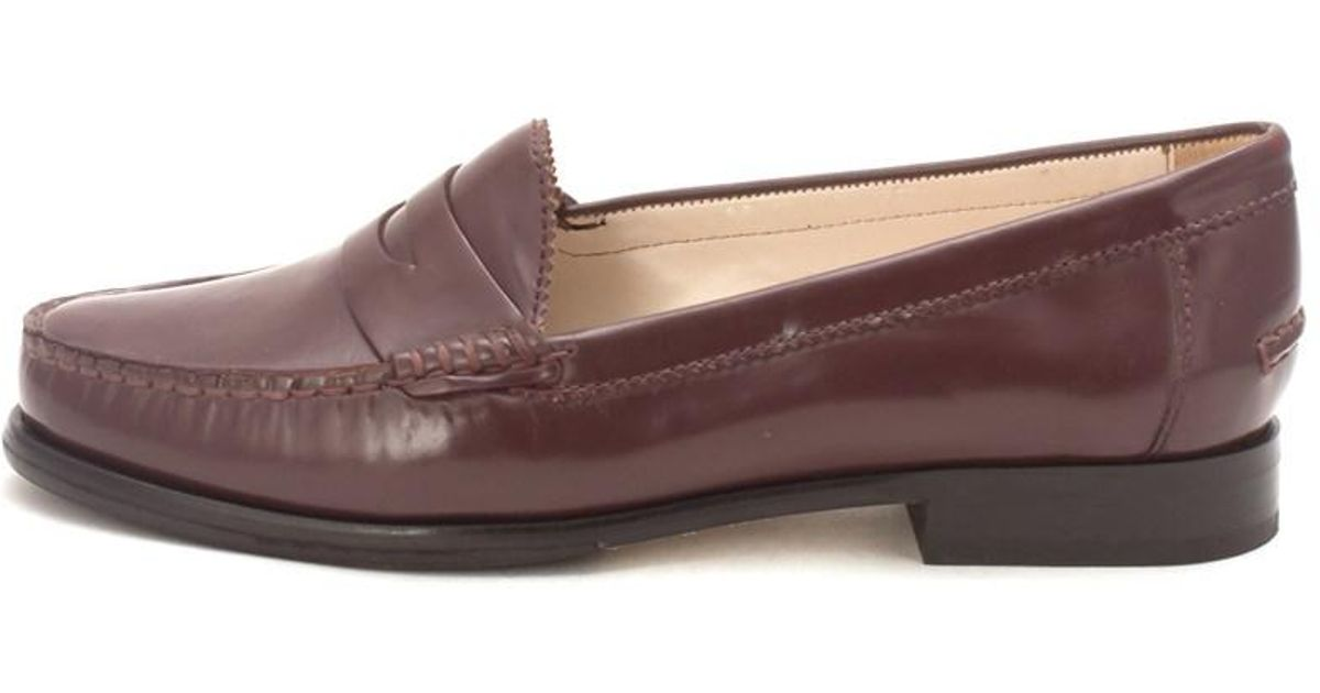 d91fc6f62e8 Lyst - Cole Haan Womens Classic Penny On Alexa Penny Closed Toe Loafers in  Brown