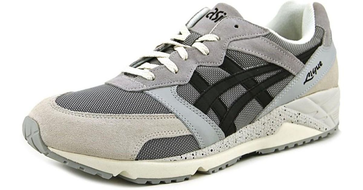quality design 0bead fac6c Lyst - Asics Gel-lique Women Round Toe Canvas Gray Sneakers in Gray