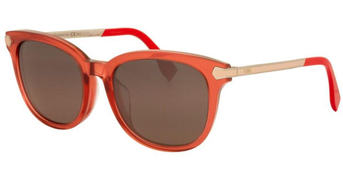 159c4f5d3dea Lyst - Fendi Women s 0021 f s 53mm Sunglasses