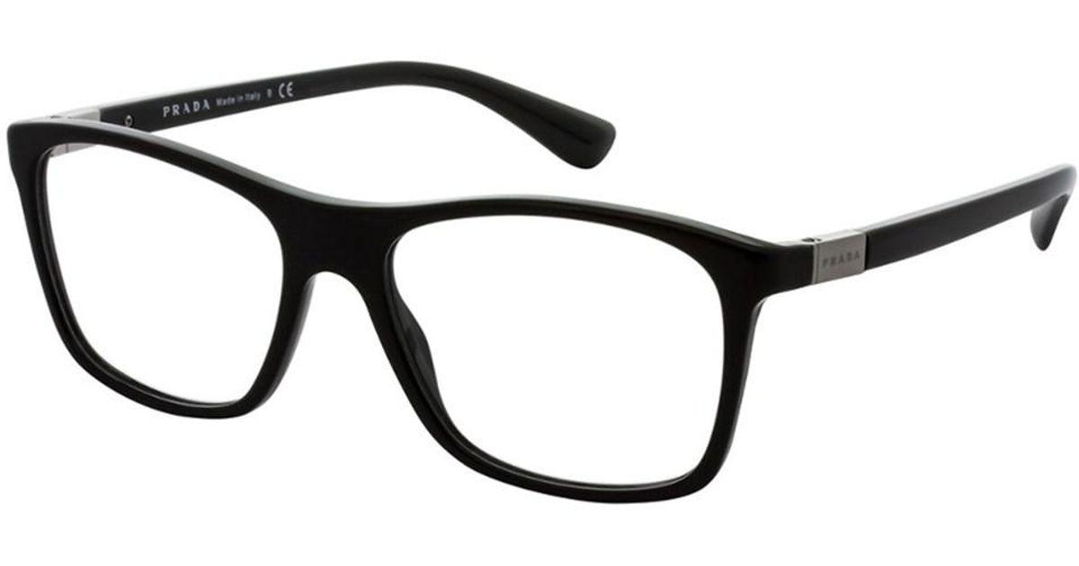 Lyst - Prada Men\'s Pr 05sv 55mm Optical Frames in Black for Men
