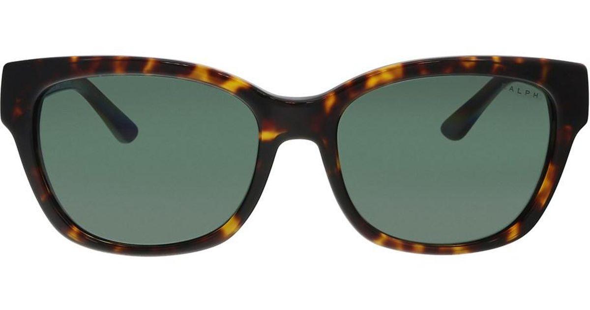 Lyst - Ralph Lauren Ra5208 137871 Dark Tortoise Rectangle Sunglasses in  Brown 1c15b6d902c5