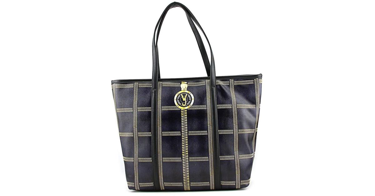 3e93fdb30ab7 Lyst - Versace Jeans E1vmbbv1 Women Synthetic Satchel in Black