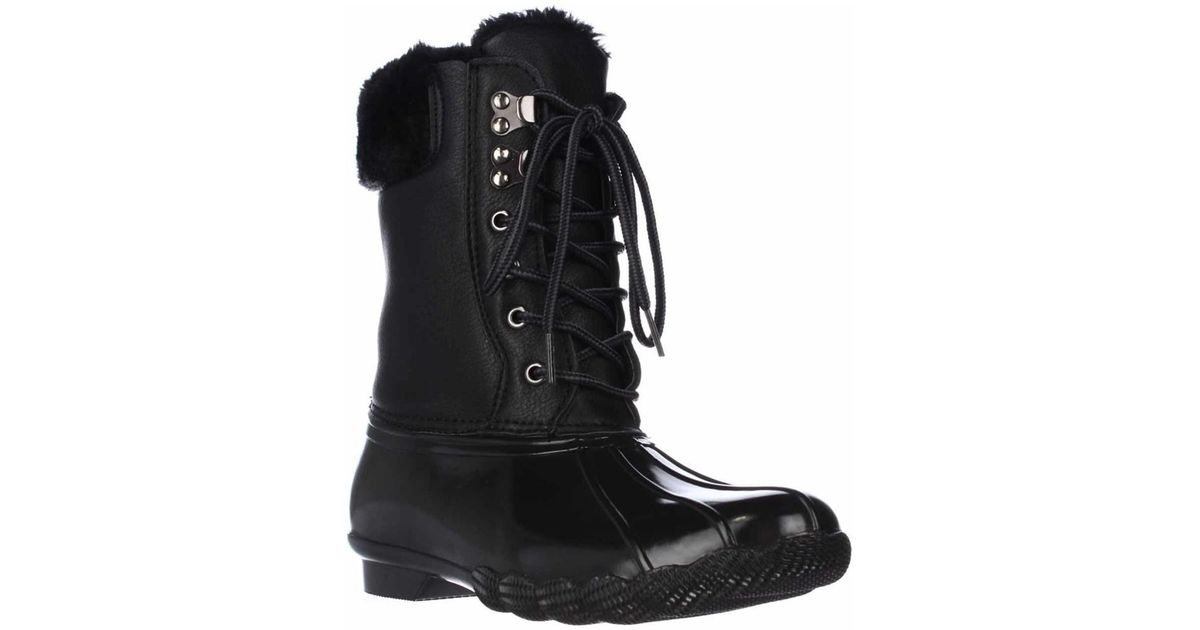 88dc3e0a94e Lyst - Steve Madden Tstorm Mid-calf Soft Lined Winter Boots - Black in Black