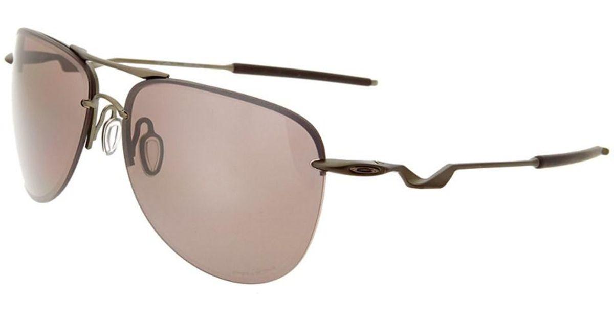 a6b1455be2b3f Lyst - Oakley Men s Tailpin Polarized 61mm Sunglasses in Black for Men