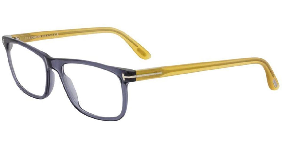 f68457a615 Lyst - Tom Ford Men s Ft5356 55mm Optical Frames for Men
