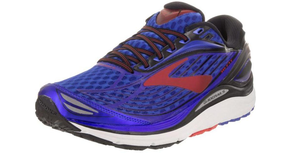 6524ca00480 Lyst - Brooks Men s Transcend 4 Running Shoe in Blue for Men