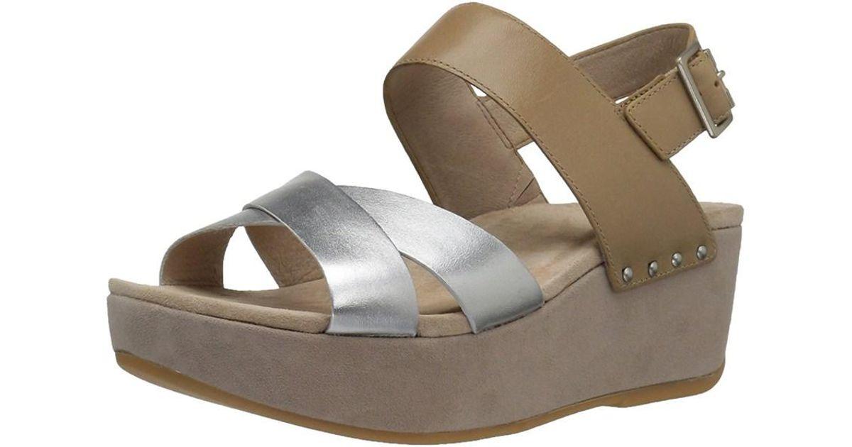 Dansko Brown Casual Womens Sandals Toe Stasia Platform Lyst Open E9WDHIY2