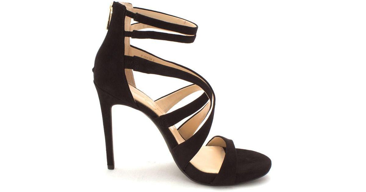 c0ada7def992 Lyst - Jessica Simpson Womens Rayomi Open Toe Casual Strappy Sandals in  Black