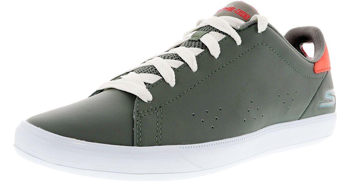 08252f9293 Lyst - Skechers Women s On The Go Vulc 2 Gray Ankle-high Tennis Shoe - 9.5m  in Green
