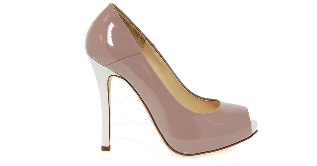 Lyst - Fabi Women s Pink Patent Leather Pumps in Pink 21d76d2bd4