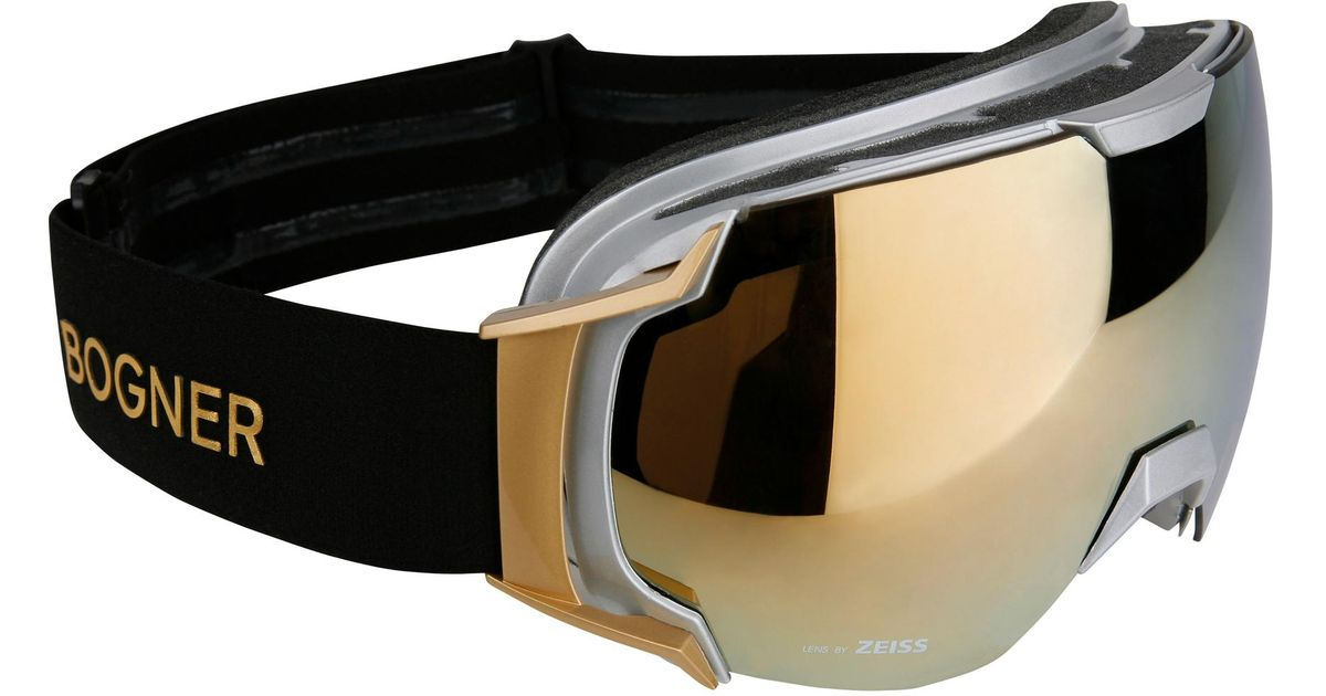 23eed3bd9fd Lyst - Bogner Ski Goggles Just B Gold in Metallic