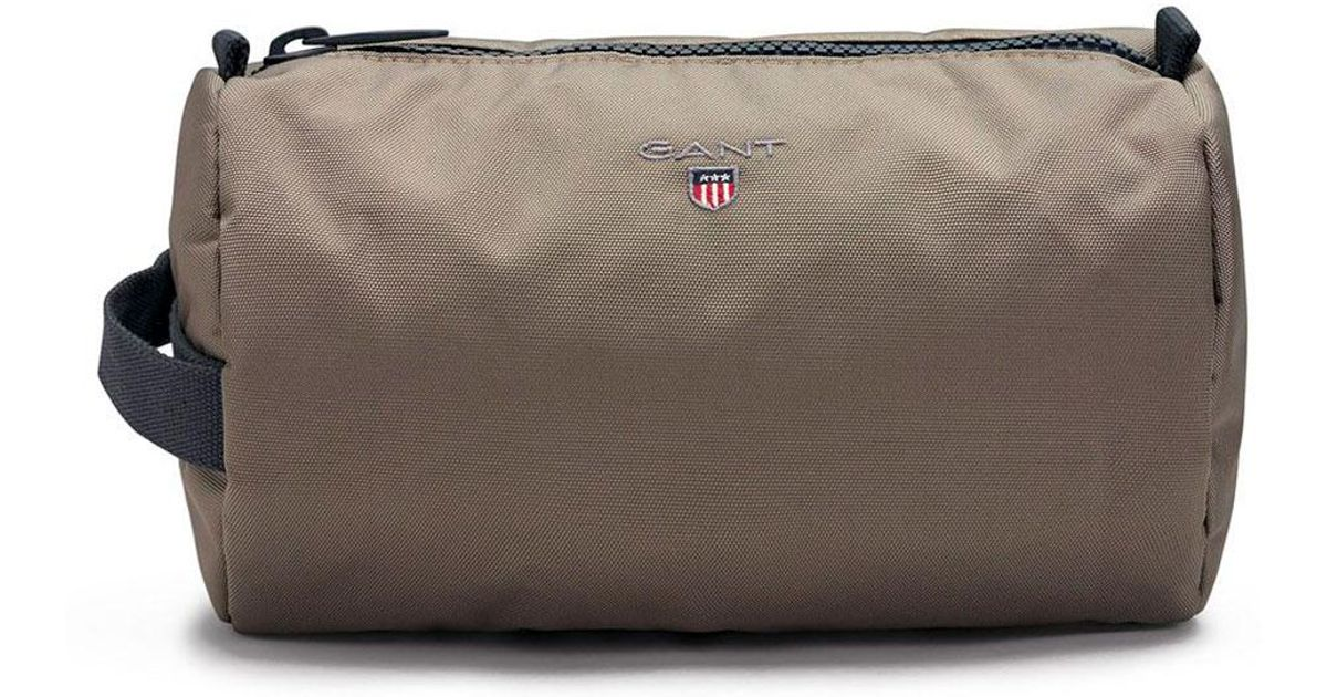 d623e33bb88 GANT O1. Original Wash Bag for Men - Lyst