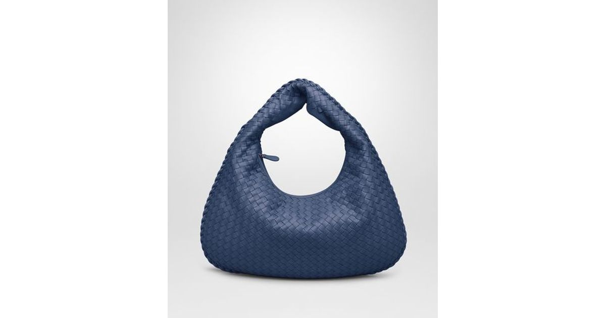 Lyst - Bottega Veneta Medium Veneta Bag In Pacific Intrecciato Nappa in Blue 75fbcedc6e5ce