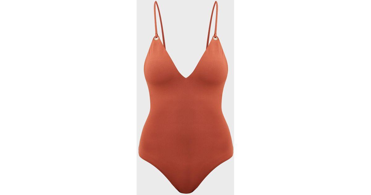 5599de4acdb37 Melissa Odabash Catalina Open-back Swimsuit - Lyst