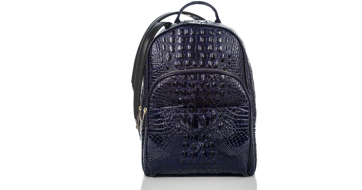fb2a4d2651affa Lyst - Brahmin Dartmouth Backpack Ink Melbourne in Blue