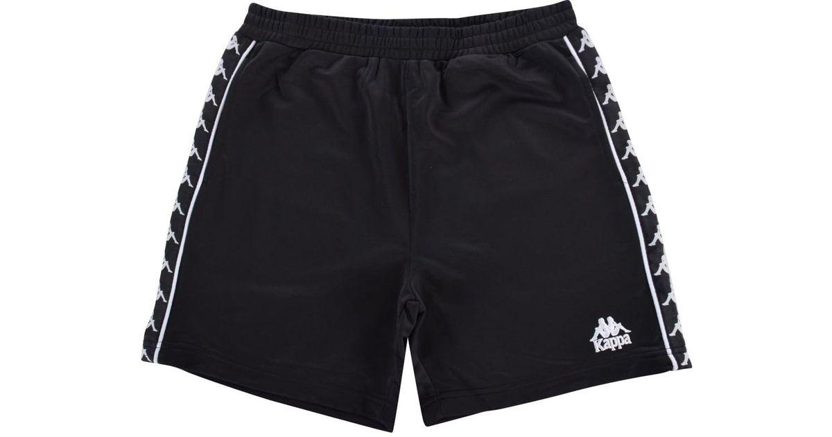 Logo Shorts - Black Kappa QU9mDFH