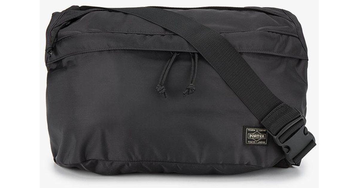 c8ed998bf7f4 Neighborhood X Porter Waist Bag in Black for Men - Lyst