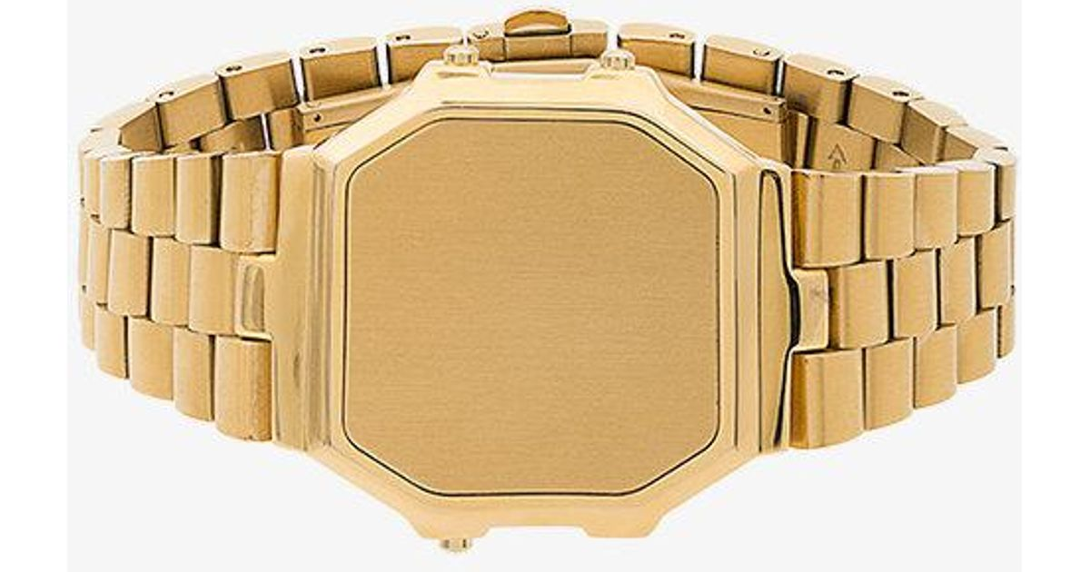 8e9206496c Ambush Metallic Timeless Watch Bracelet in Metallic - Lyst