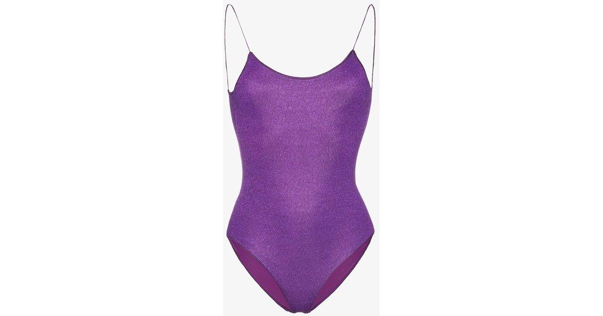 Purple Lumiere swimsuit - Pink & Purple Oséree Get Authentic Cheap Online Discount Shop Offer For Sale Online Shop Best Choice 5JEiS