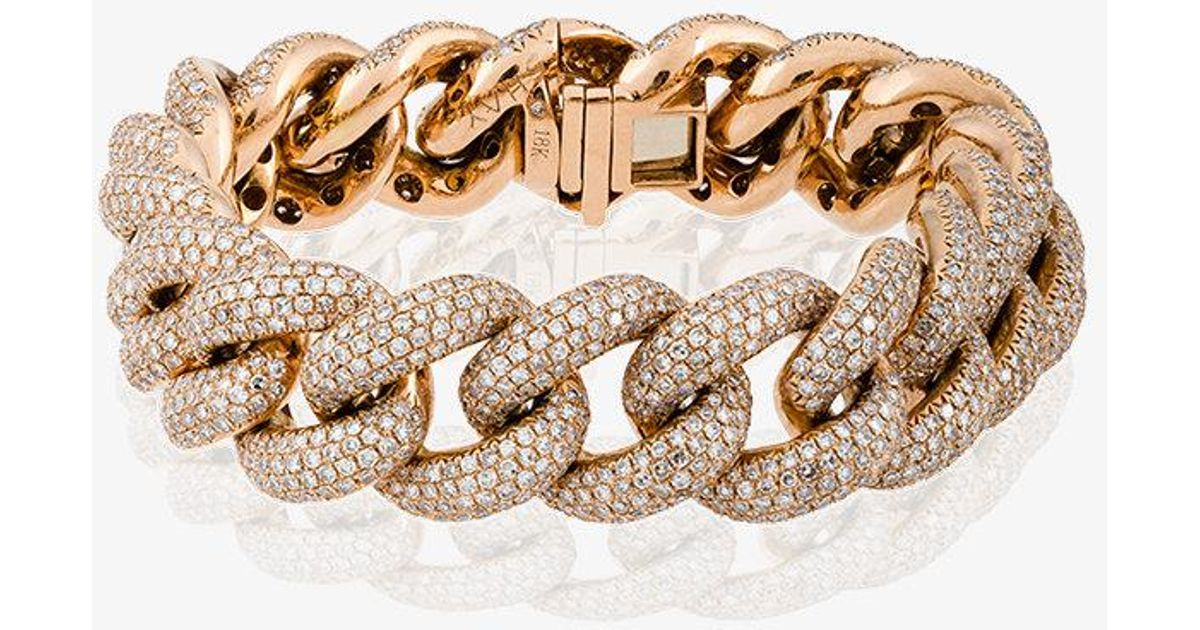 Shay Jumbo pave link bracelet 6yus1Crg